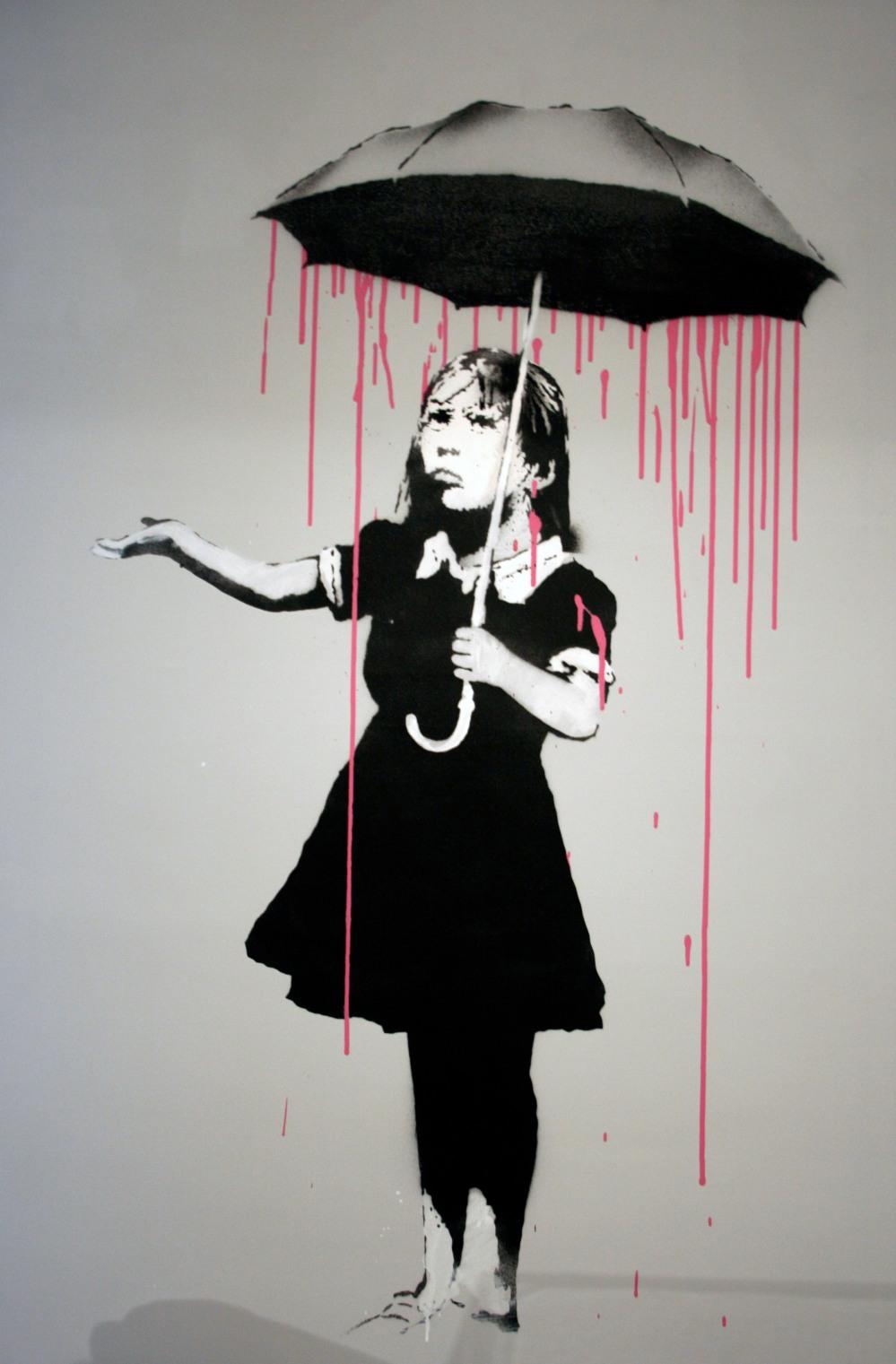 NOLA Pink by Banksy