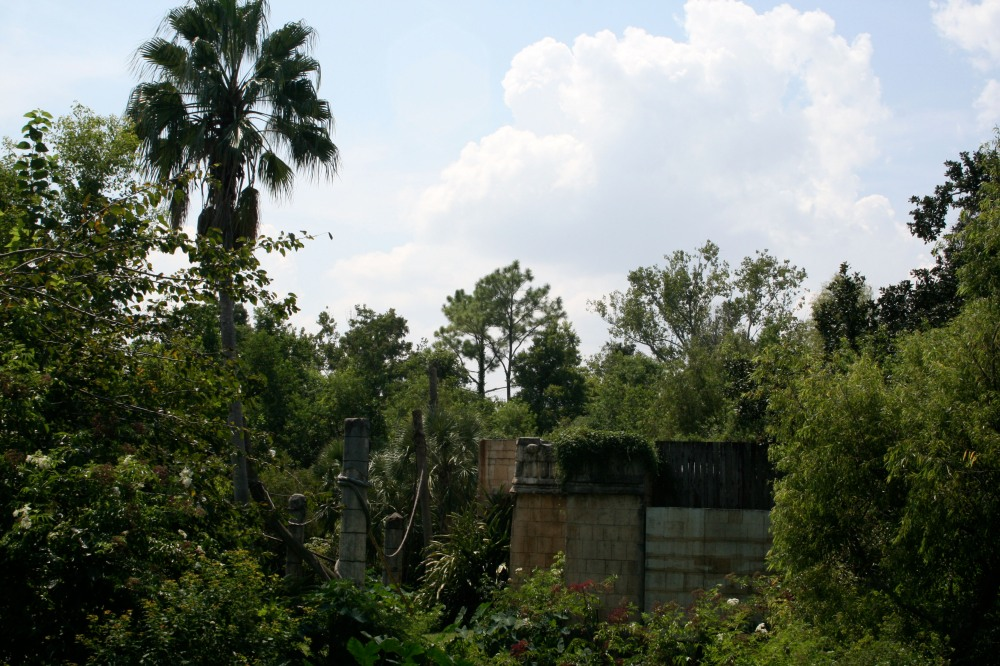 fake Mayan ruins