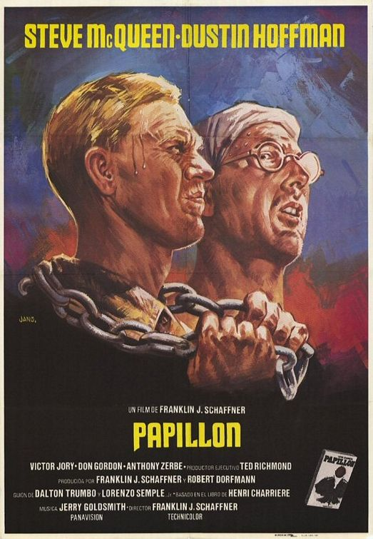 papillon movie poster