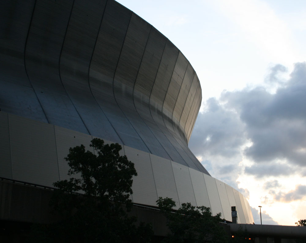 spaceship or superdome?