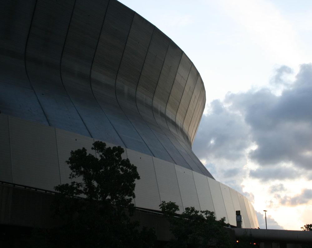 spaceship or superdome?