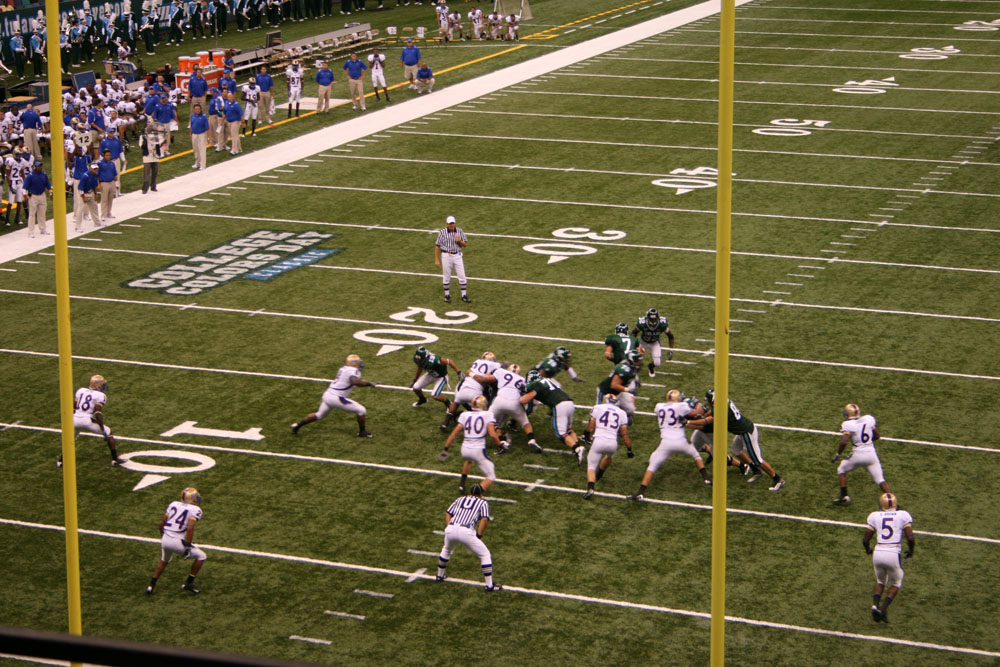 tulane football action