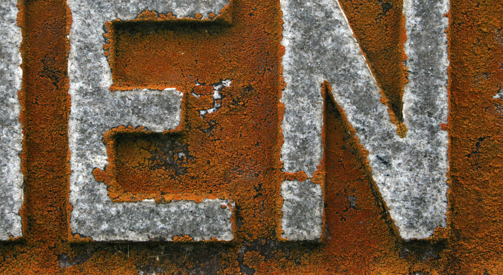 rusty letters