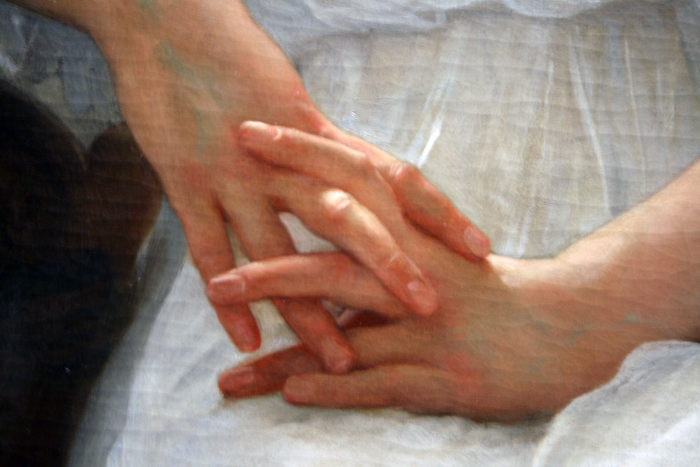 Whisperings of Love, detail