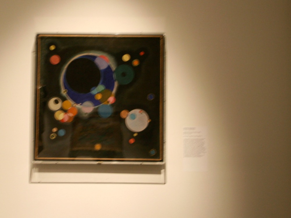Sketch for Several Circles by Kandinsky