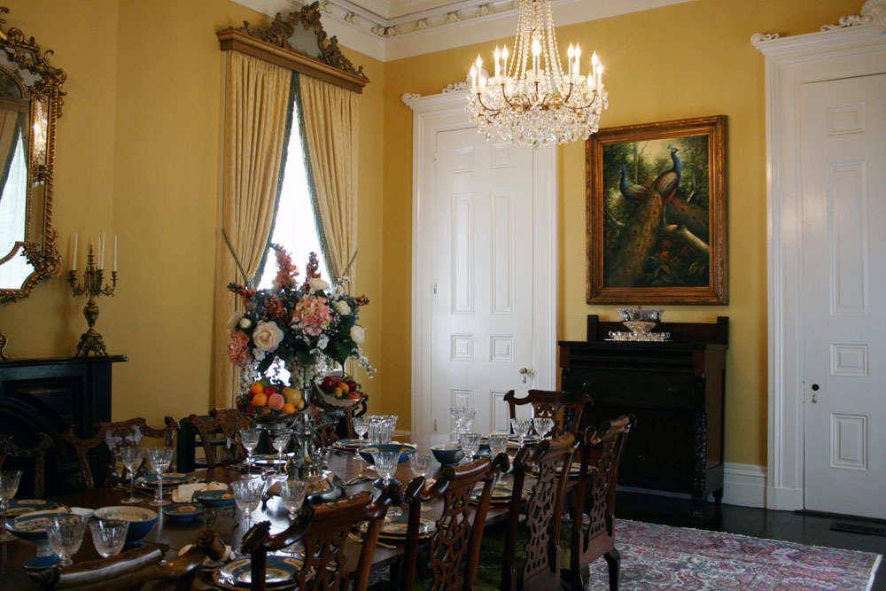 nottoway dining room