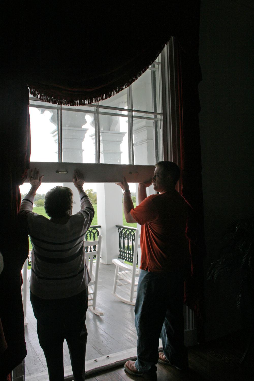 nottoway window door