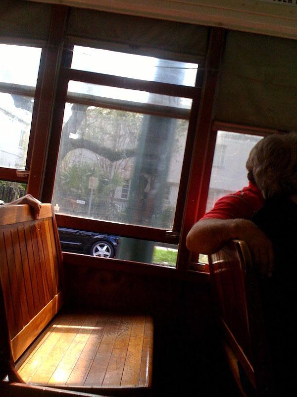 streetcar seat