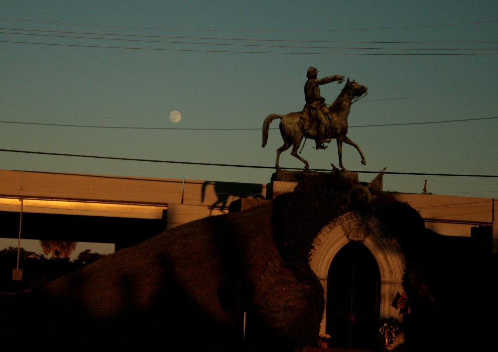 moon and cavalryman