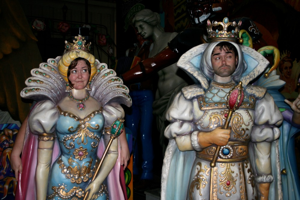 king and queen of mardi gras