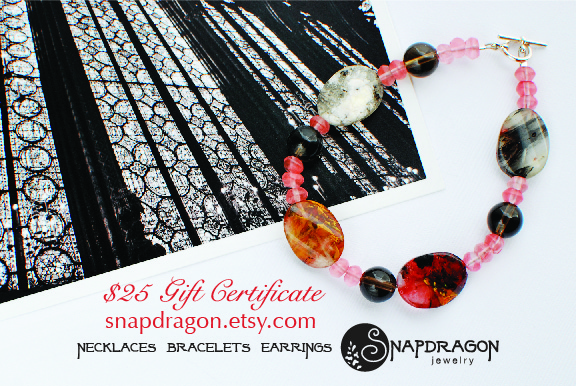 $25 Gift Certificate to Snapdragon Jewelry
