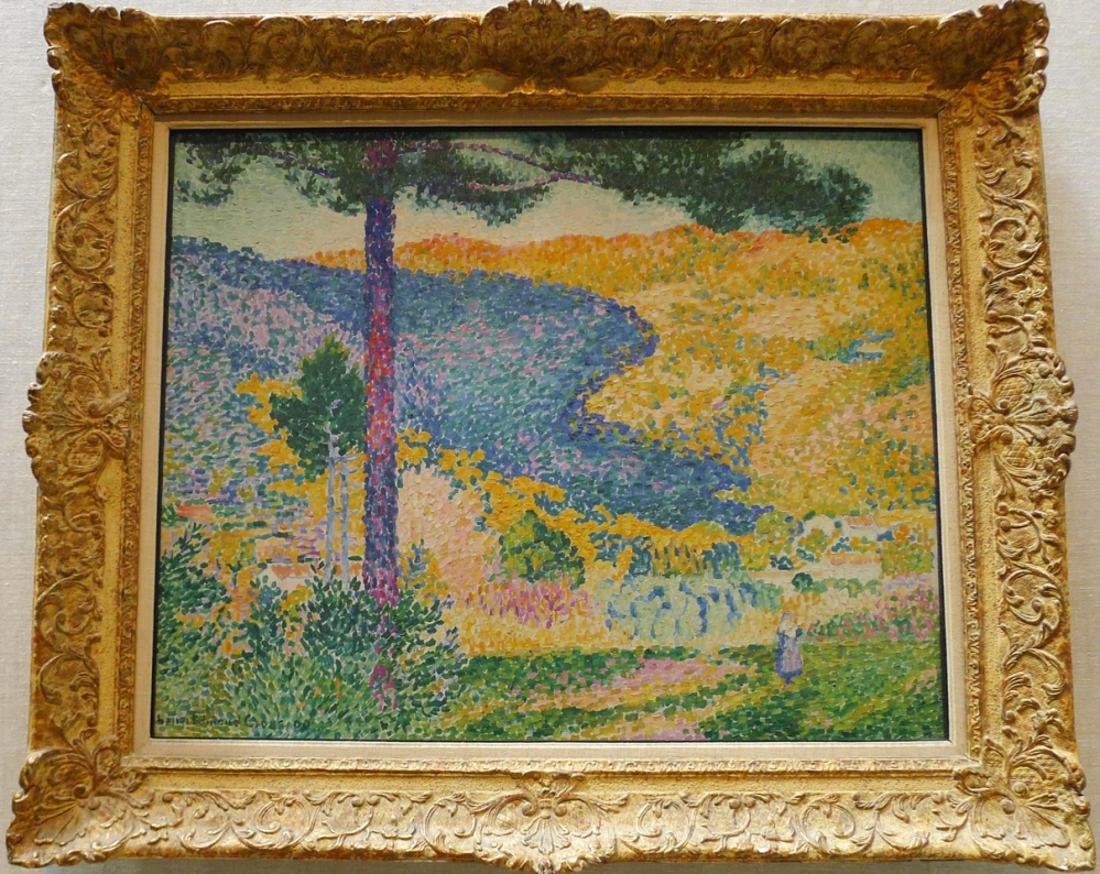 Valley with Fir by Henri Edmond Cross