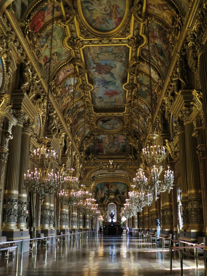Paris Opera House Grand Foyer : The paris opera house