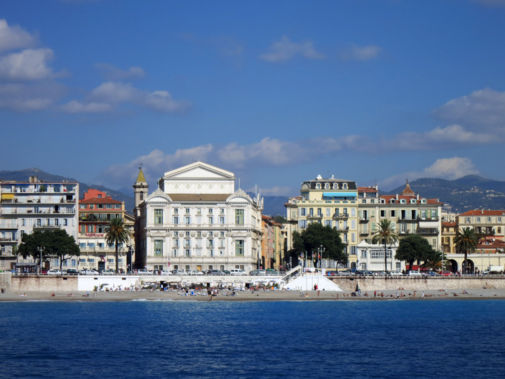 French riviera boat tour sharp keen for Tours of nice houses