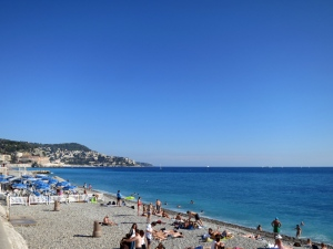 Arriving in Nice