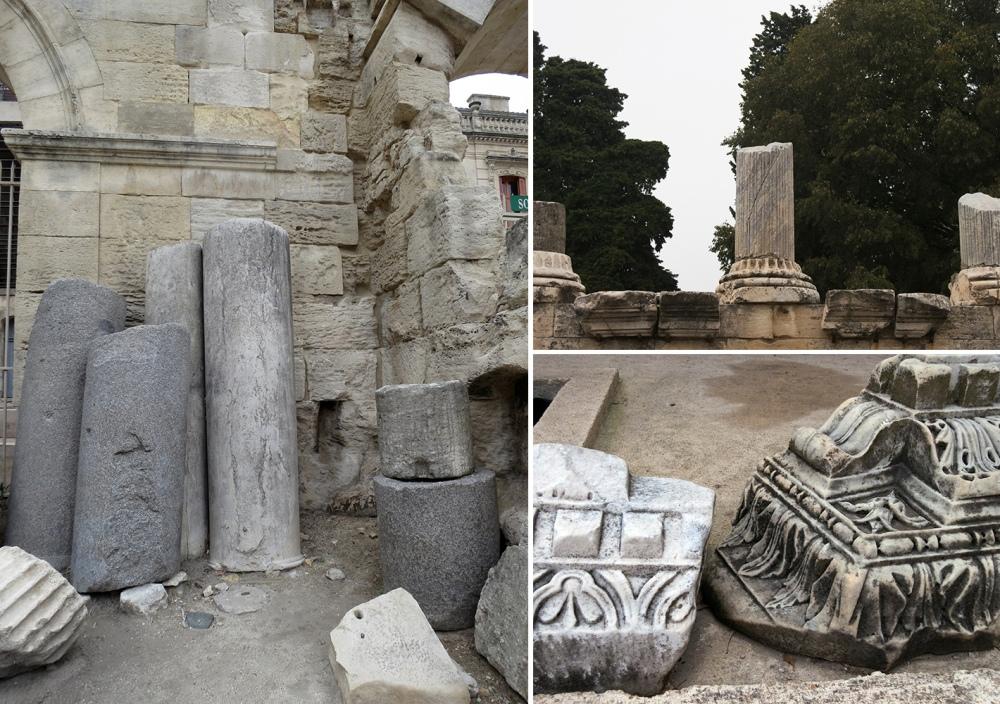 12_Capitals-and-Columns-Arles-Roman-Ruins