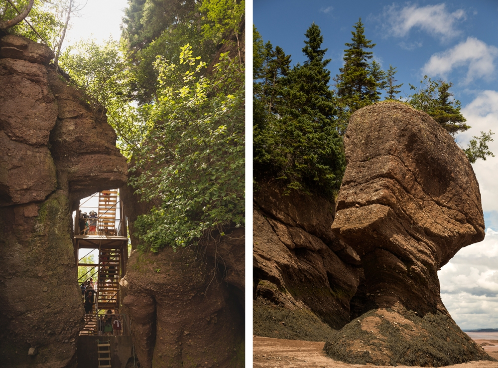 Hopewell-Rocks-Stairs-Mummy