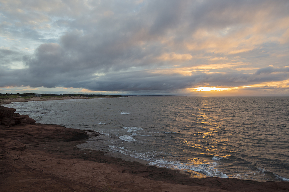 PEI-Sunset-Cliffs