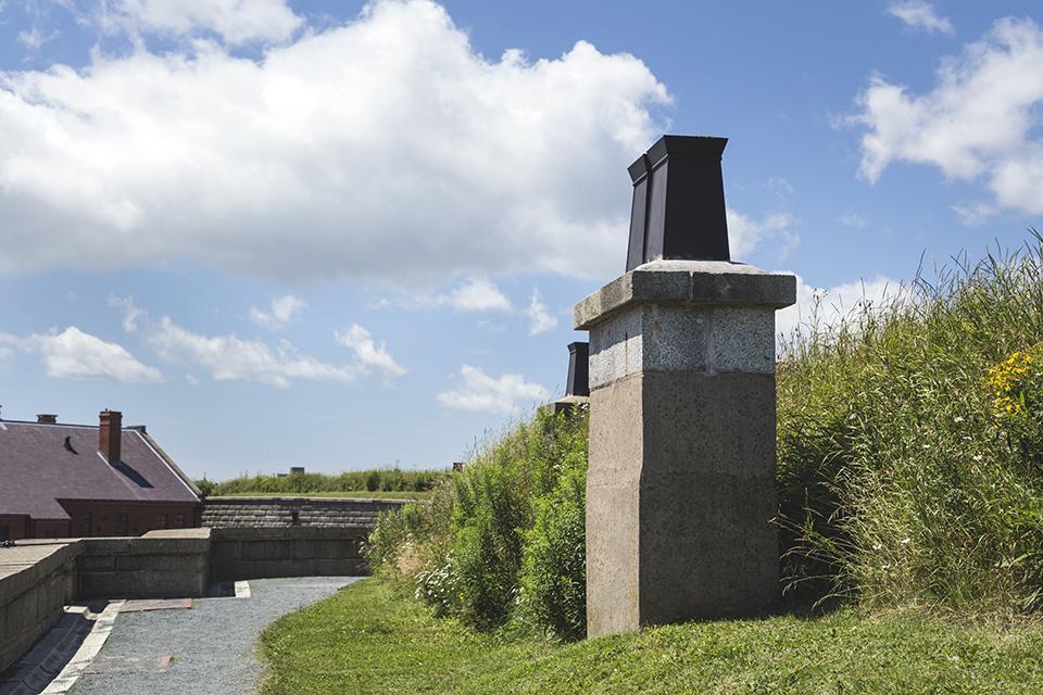 Halifax-Citadel-Roof-Chminey