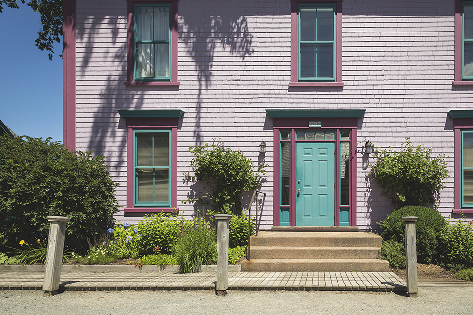 Purple-Green-House-Mahone-Bay
