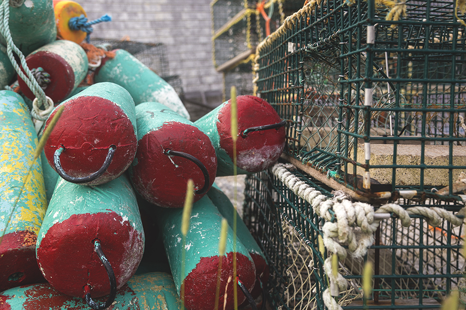 Red-Green-Lobster-Buoys